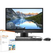 "All in One Dell Inspiron iOne-3280-M10F 8ª Geração Intel Core i3 4GB 1TB FHD 21.5"" Windows 10 Preto Office 365 -"