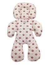 Almofada Ajuste para carrinhos , bebê conforto e cadeirinha 70cm x 40cm (Robozinho)     Protetor almofada ajuste para be - Jd Home_Decor