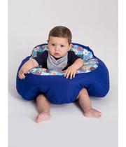 Almofada Apoio Segura Bebê Sentar Puff Berço Portatil Urso2 - Dindinha Kids