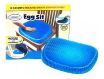 Almofada Assento Gel Ovo Silicone Cóccix Ortopédico Egg Sit - Supermedy -