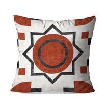 Almofada Avulsa Decorativa Laranja Ornamental - Love Decor
