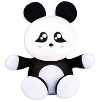 Almofada Bichinho Sentado Panda - Fom Floc -