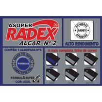Almofada Carimbo N.2 Azul Radex -