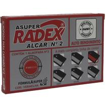 Almofada Carimbo N.2 Vermelha (7897254101231) - Radex