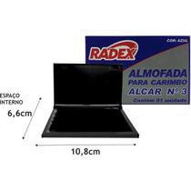 Almofada Carimbo N.3 Radex Azul -