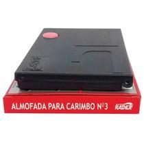 Almofada Carimbo N.3 Vermelha (7897254101248) - Radex