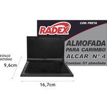 Almofada Carimbo N.4 Radex Preta -