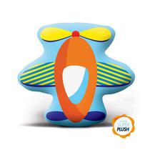 Almofada Cheia Infantil - Transfer - Avião - Lepper -