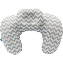 Almofada De Amamentação Com Travesseiro - Cinza Buba Baby -
