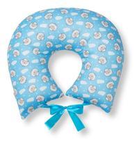 Almofada De Amamentação Travesseiro Ovelha Azul - Click Tudo