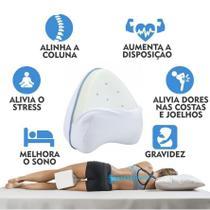 Almofada De Apoio Para Joelho Leg Pillow Supemedy - Supermedy