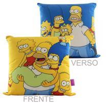 Almofada De Veludo 40x40cm Família The Simpsons - Zc