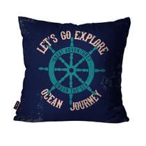 083bc55f78 Almofada Decorativa Avulsa Azul Ocean Journey - Pump up