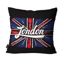 Almofada Decorativa Avulsa Preto London - Pump up