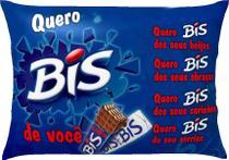 Almofada Decorativa Namorados Quero Bis - Tafis