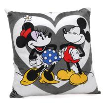 Almofada Disney Mickey e Minnie Love 40x40cm