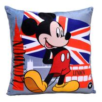 Almofada Disney Mickey London 40x40cm
