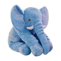 Almofada Elefante Azul Gigante - Buba Toys -