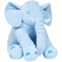 Almofada Elefante Gigante - Azul Buba Baby -
