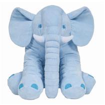 Almofada Elefante Gigante Azul - Buba -