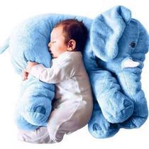 Almofada elefante gigante buba - azul -