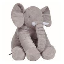 Almofada Elefante Gigante Buba - Cinza - Buba Zoo
