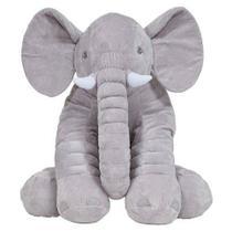 Almofada Elefante Gigante Cinza 3+ - Buba -