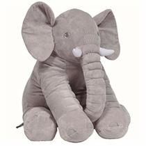 Almofada Elefante Gigante Cinza Buba 7561 -