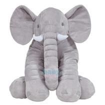 Almofada Elefante Gigante Cinza Buba -