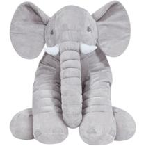 Almofada Elefante Gigante Cinza - Buba -