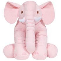 Almofada Elefante Gigante - Rosa Buba Baby -