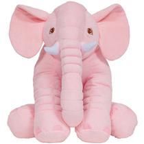 Almofada elefante gigante - rosa - Buba