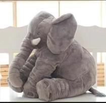 almofada Elefante  travesseiro pelucia  baby - Cilinho Confeccoes