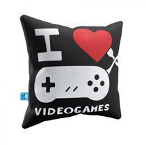 Almofada Eu Amo Videogames - Zc