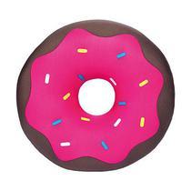 Almofada Floc Decorativa Donut Chocolate -