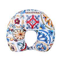 Almofada Fom 2 Em 1 Duo Azulejo Siciliano -