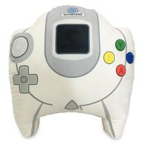 Almofada Gamer Inspirada no Controle de Video Game DreamCast - Camaleão Preto