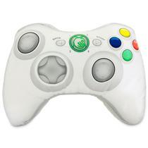 Almofada Geek Gamer Formato Controle Video Game Xbox 360 Branco - Camaleão Preto