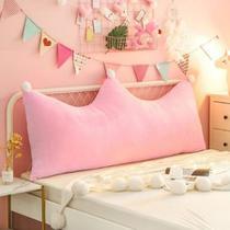 Almofada Infantil Para Cabeceira Mini Cama Casinha Beliche Montessori  60X70 Decoração Rosa - Melvinn Home Store