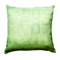 Almofada itália verde em poliester 45x45cm - Unique