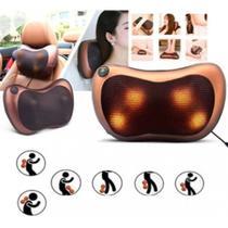Almofada massageador de lombar pescoco shiatsu encosto cadeira de massagem casa carro escritorio cadeira poltrona - GIMP