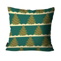 Almofada Mdecore Natal Arvore de Natal Verde -