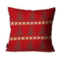 Almofada Mdecore Natal Arvore Vermelha -