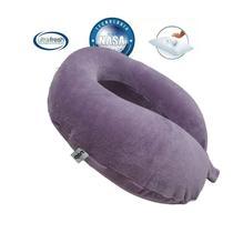 Almofada Nasa Nap Travesseiro Pescoço Viagem Anatomico Roxo -