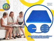 Almofada Ortopédica com Sistema Tipo Colmeia Comfort Gel 40 x 40 cm / Espessura 3 cm Modelo Active - Ref.: AC 090  - Ortho Pauher -