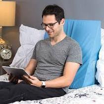 Almofada Ortopédica de Encosto Para Costas e Pernas - Travesseiro Ideal