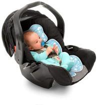 Almofada para bebê conforto, carrinho e cadeirinha, Clingo, Azul -