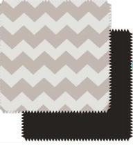 Almofada Para Carrinho Comfi Cush Grey Zigzag/black - Clingo Brasbaby -