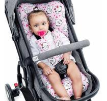 Almofada Para Carrinho de Bebê Universal - Ovelha Rosa - Click Tudo