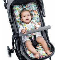 Almofada Para Carrinho de Bebê Universal - Safari - Click Tudo